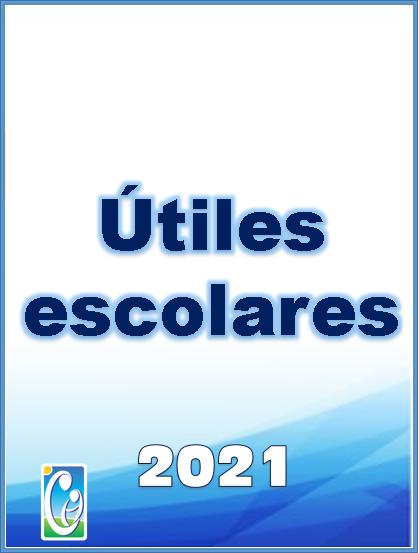 Útiles escolares 2021 – Colegio Champagnat
