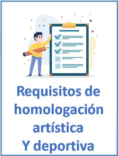 Requisitos de homologación 2021